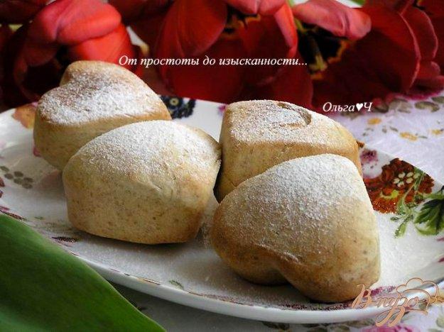 фото рецепта: Ванильные булочки с отрубями