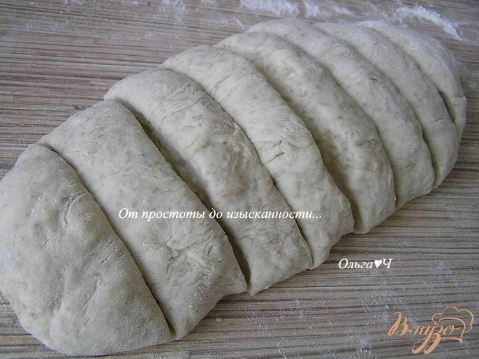 Фото приготовление рецепта: Ванильные булочки с отрубями шаг №5