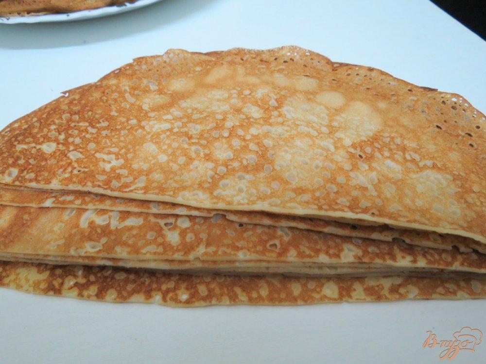 Фото приготовление рецепта: Закусочный пенёк шаг №8