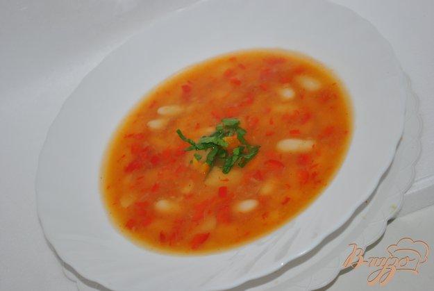 фото рецепта: Суп с перцами и фасолью
