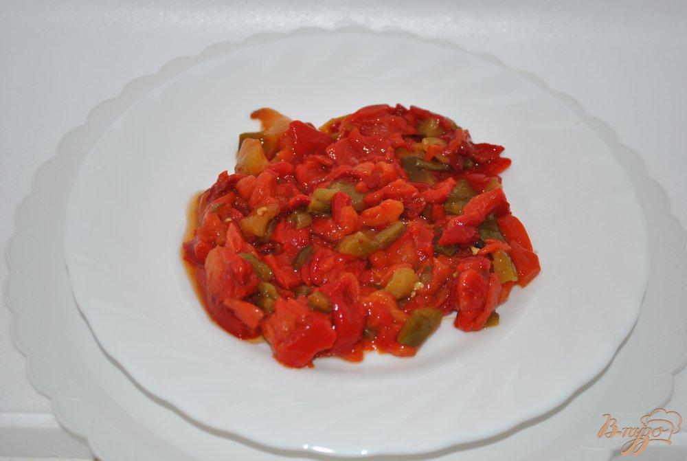 Фото приготовление рецепта: Суп с перцами и фасолью шаг №2