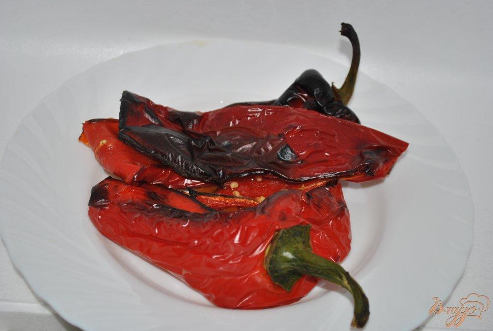Фото приготовление рецепта: Суп с перцами и фасолью шаг №1