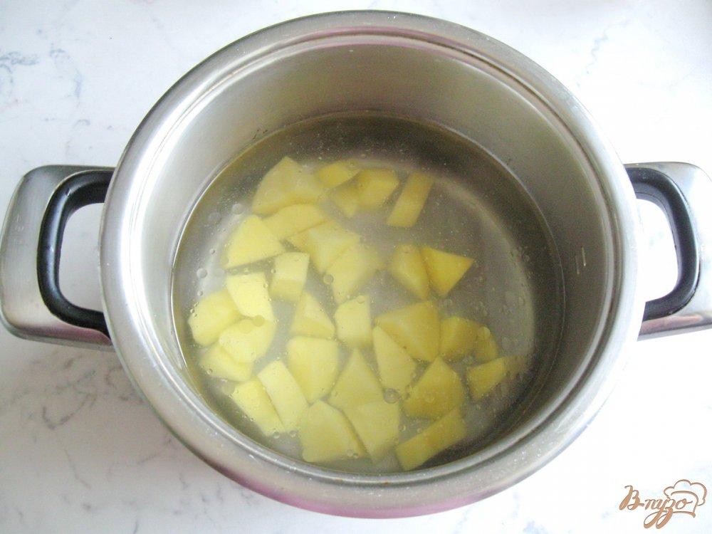 Фото приготовление рецепта: Вегетарианские щи с молодой капустой шаг №1
