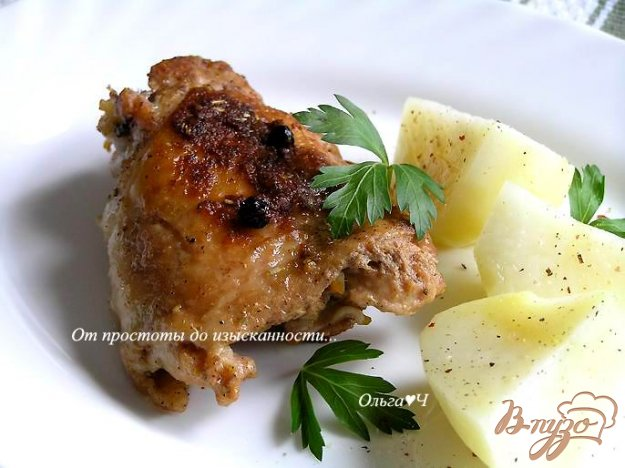 фото рецепта: Курица в пряностях с корицей