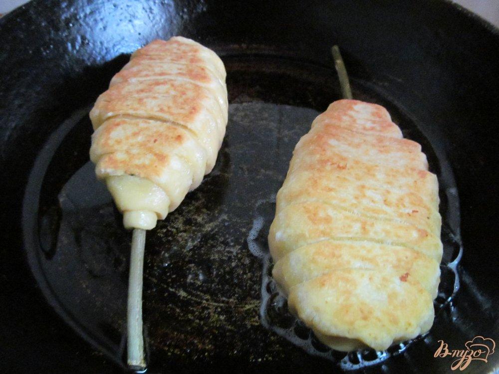 Фото приготовление рецепта: Ложные куриные ножки шаг №8