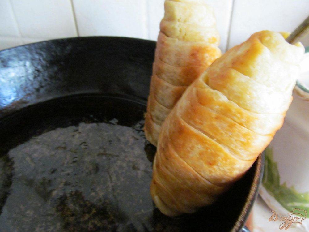 Фото приготовление рецепта: Ложные куриные ножки шаг №9
