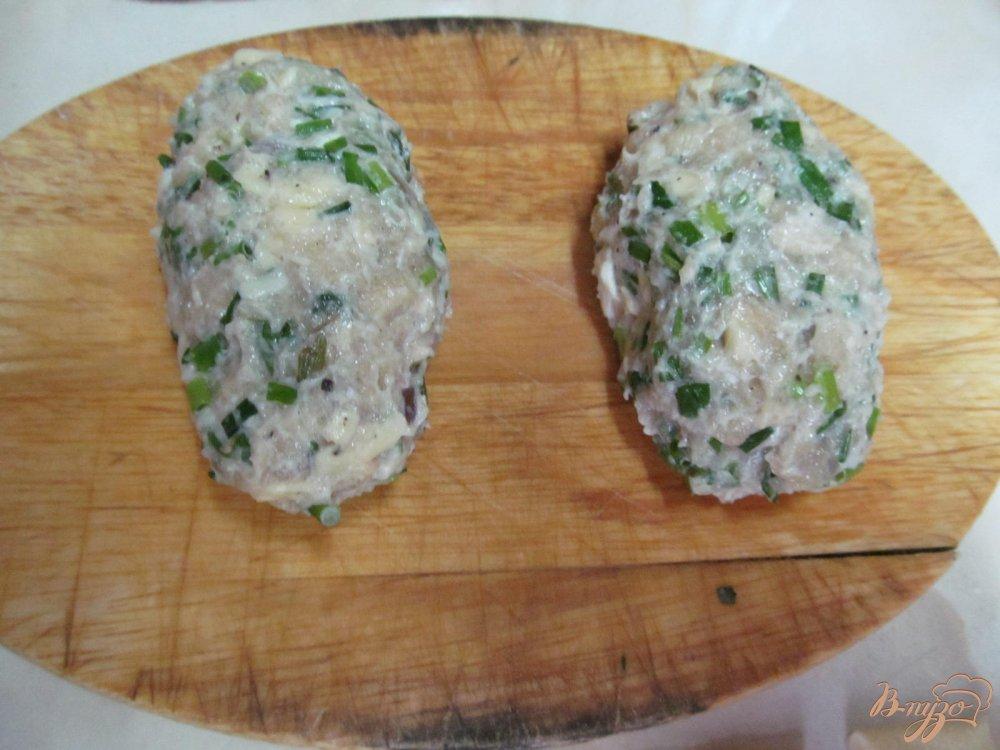 Фото приготовление рецепта: Ложные куриные ножки шаг №5