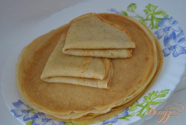 фото рецепта: Блинчики без молока и яиц