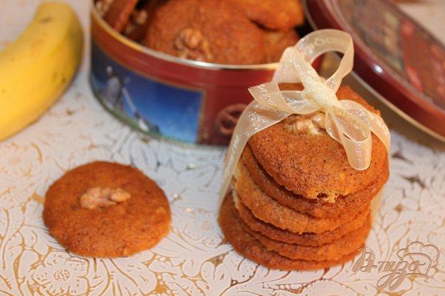 фото рецепта: Бананово-ореховое печенье