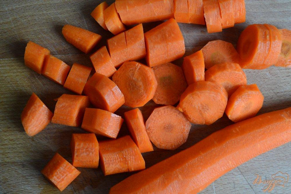 Фото приготовление рецепта: Гарнирные овощи с лимонной цедрой шаг №1