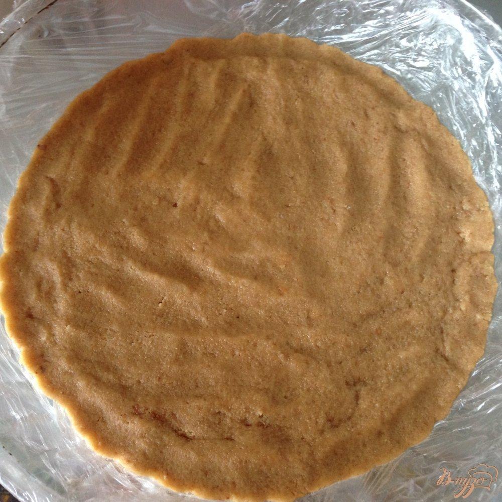 Фото приготовление рецепта: Желейный торт без выпечки с цитрусовым  вкусом шаг №4