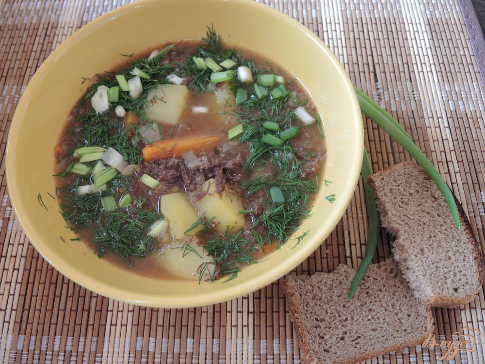 Фото приготовление рецепта: Тушеная оленина с овощами шаг №10