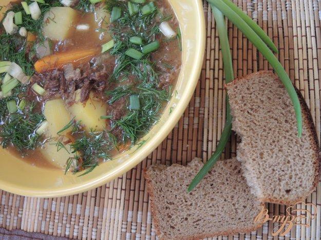 фото рецепта: Тушеная оленина с овощами