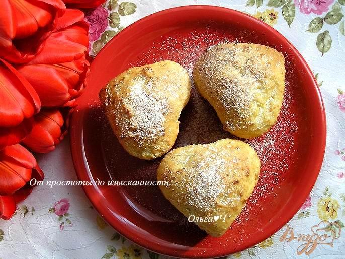 Фото приготовление рецепта: Творожные кексы с цукатами шаг №5