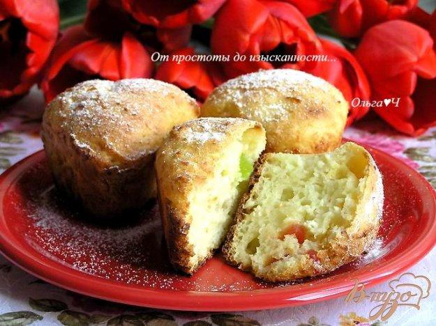 фото рецепта: Творожные кексы с цукатами