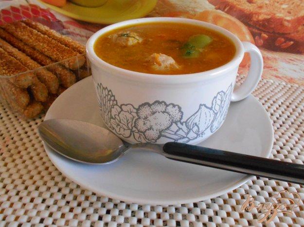 Суп зі стручковою квасолею і м'ясними кульками. Як приготувати з фото