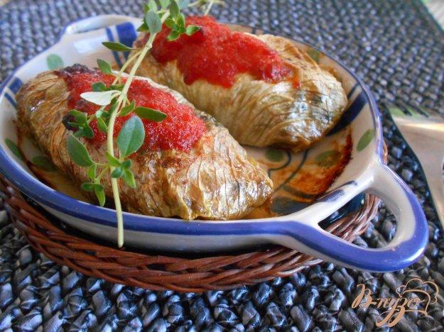 фото рецепта: Голубцы из качанного салата