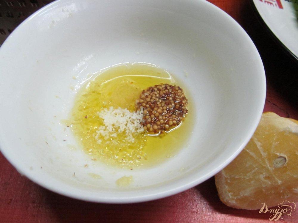 Фото приготовление рецепта: Теплый салат и свинины картофеля и кабачка шаг №4
