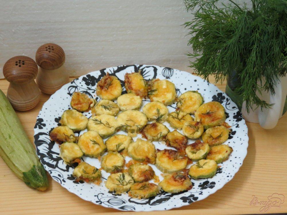 Фото приготовление рецепта: Кабачки в микроволновке шаг №6