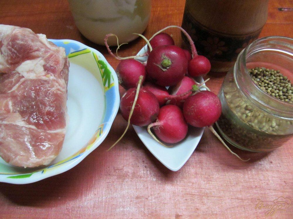 Фото приготовление рецепта: Веррины с охлажденной свининой шаг №1