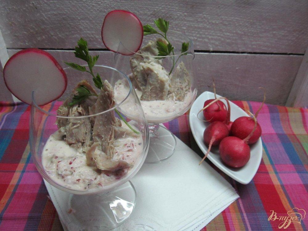 Фото приготовление рецепта: Веррины с охлажденной свининой шаг №5