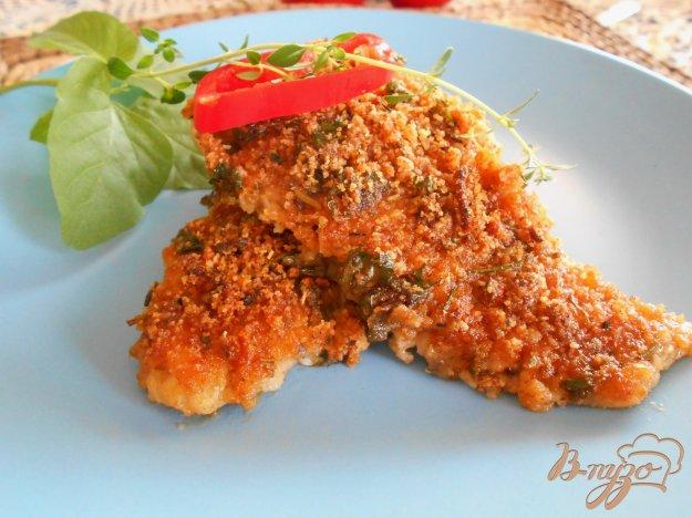 фото рецепта: Филе рыбы под хрустящей корочкой