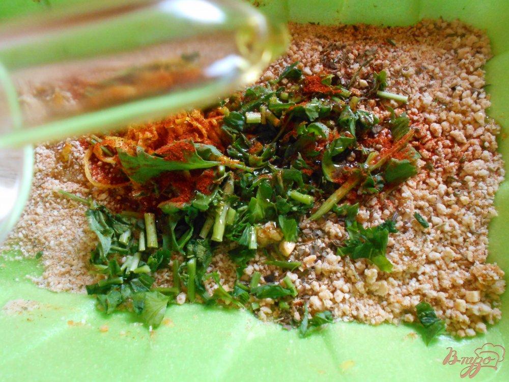 Фото приготовление рецепта: Филе рыбы под хрустящей корочкой шаг №3
