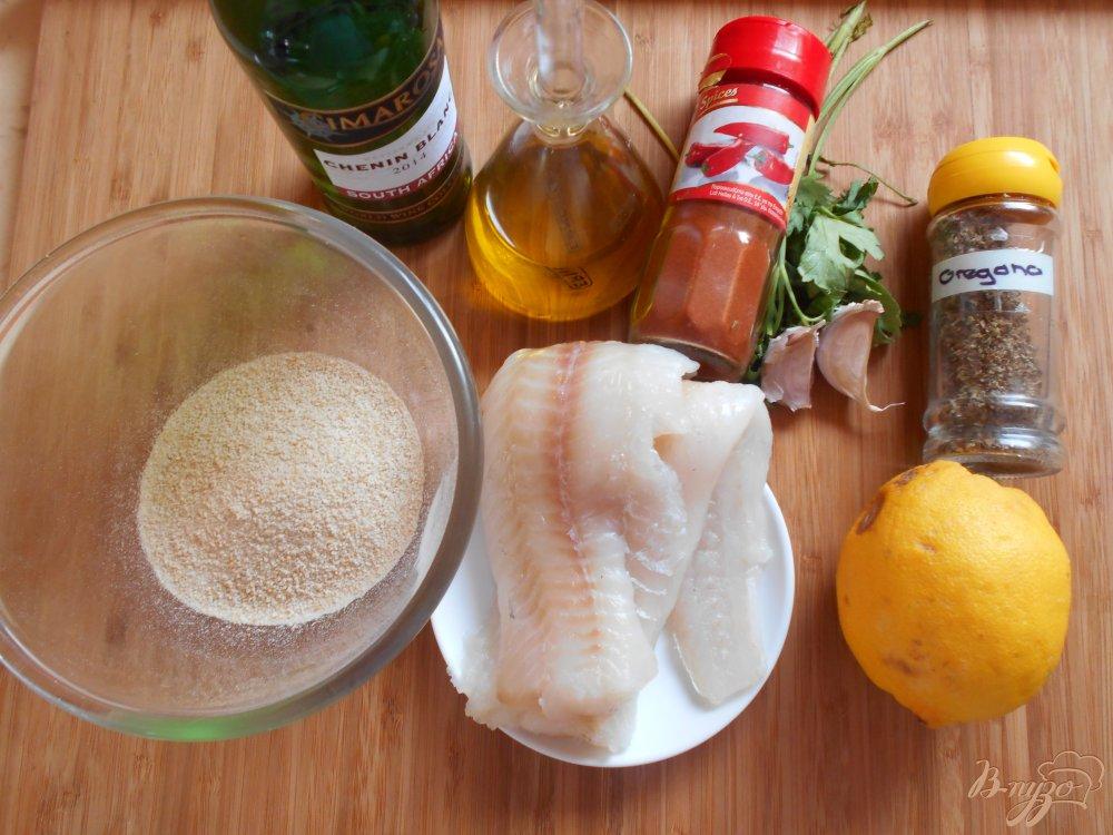 Фото приготовление рецепта: Филе рыбы под хрустящей корочкой шаг №1