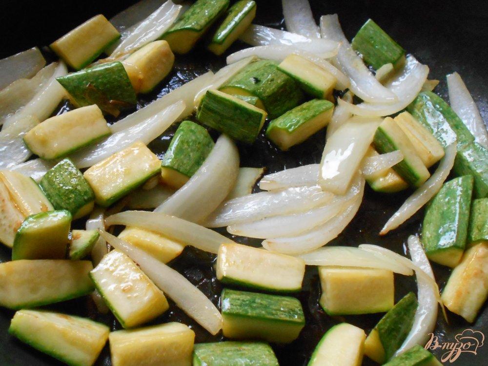 Фото приготовление рецепта: Цуккини по-шанхайски шаг №6