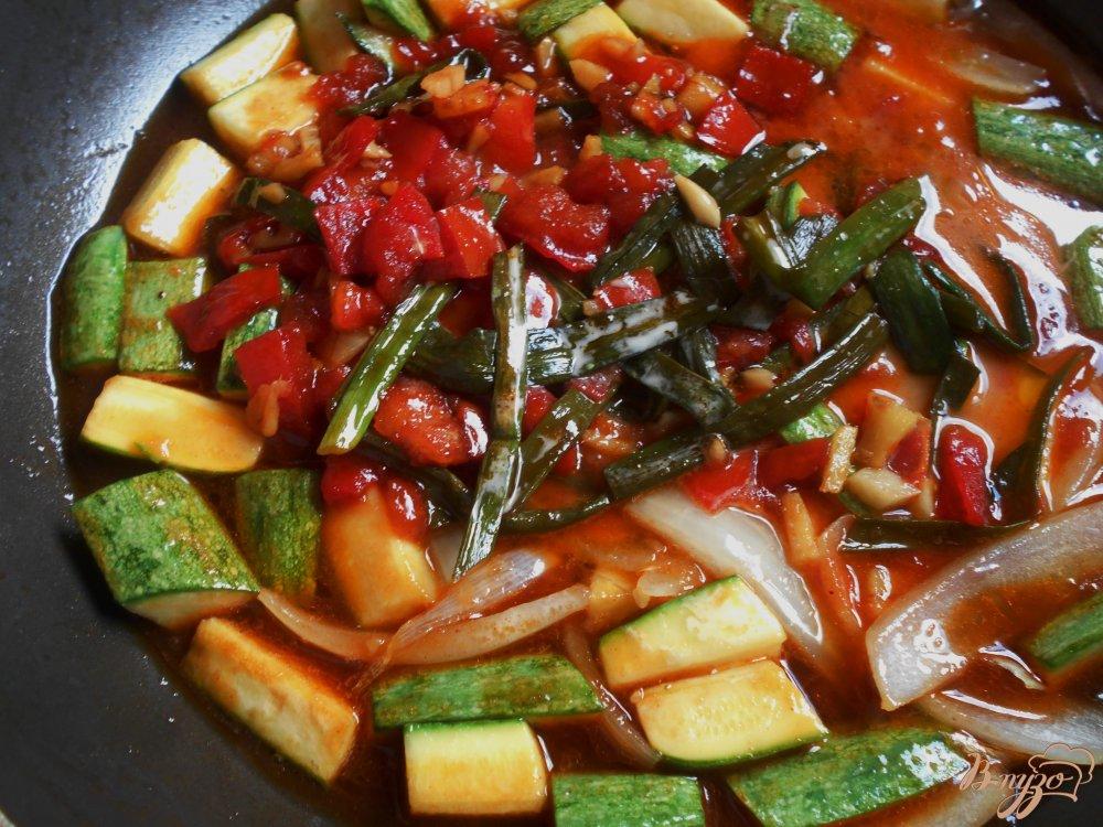 Фото приготовление рецепта: Цуккини по-шанхайски шаг №7