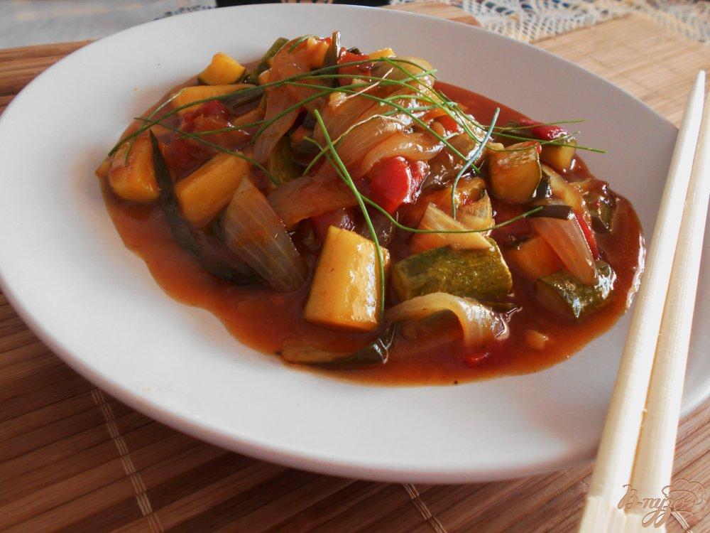 Фото приготовление рецепта: Цуккини по-шанхайски шаг №8