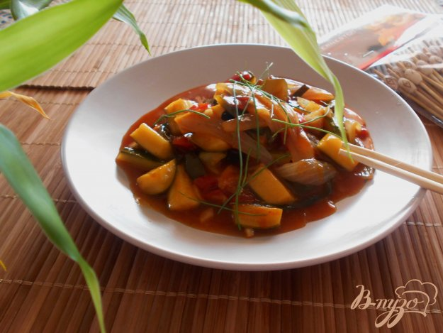 фото рецепта: Цуккини по-шанхайски