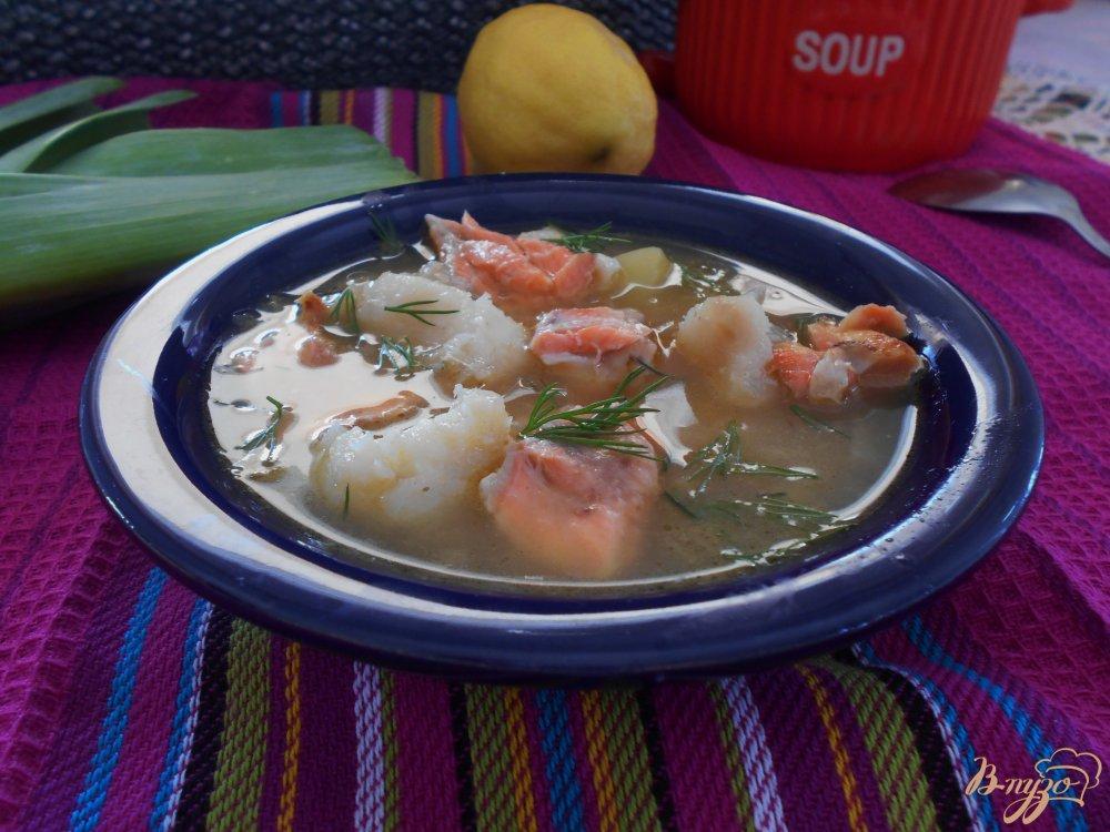 Фото приготовление рецепта: Рыбный суп шаг №7