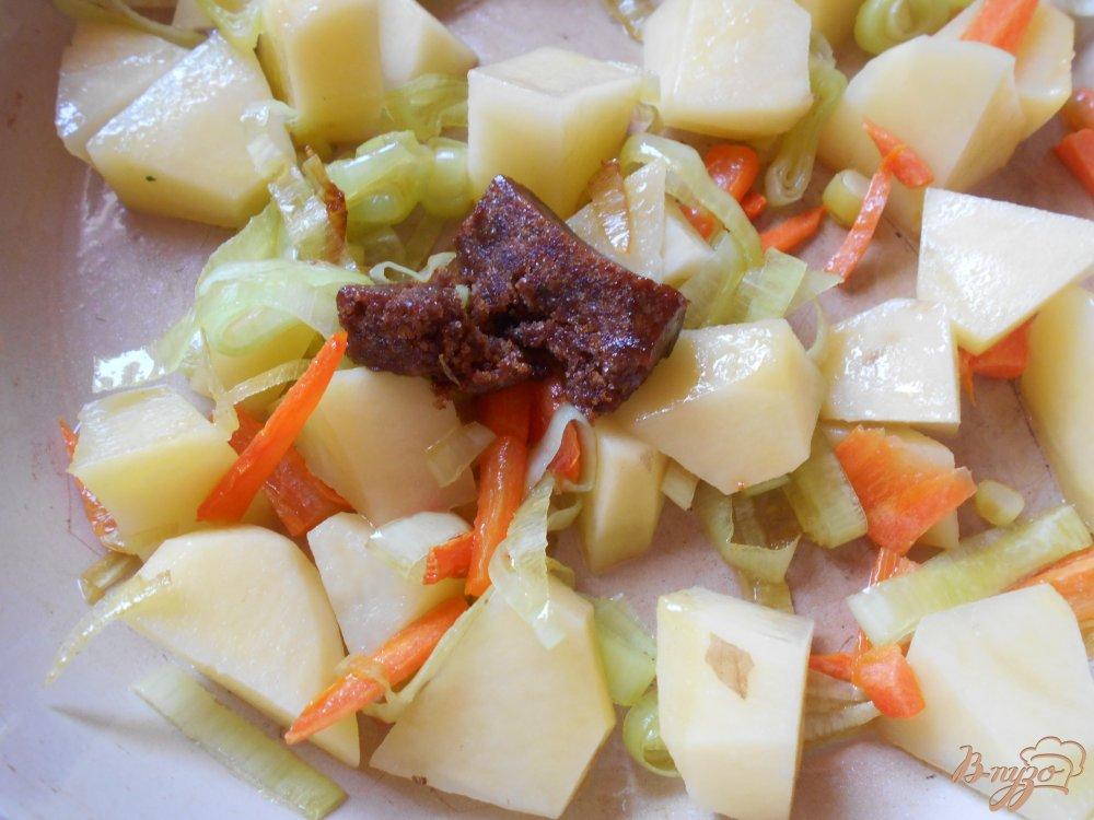 Фото приготовление рецепта: Рыбный суп шаг №6