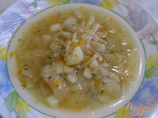 фото рецепта: Суп из хека с вермишелью