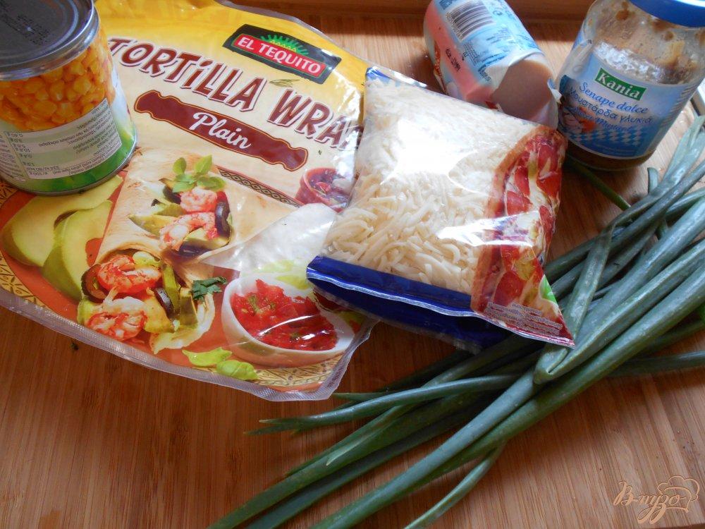 Фото приготовление рецепта: Тортилья по-мексикански шаг №1