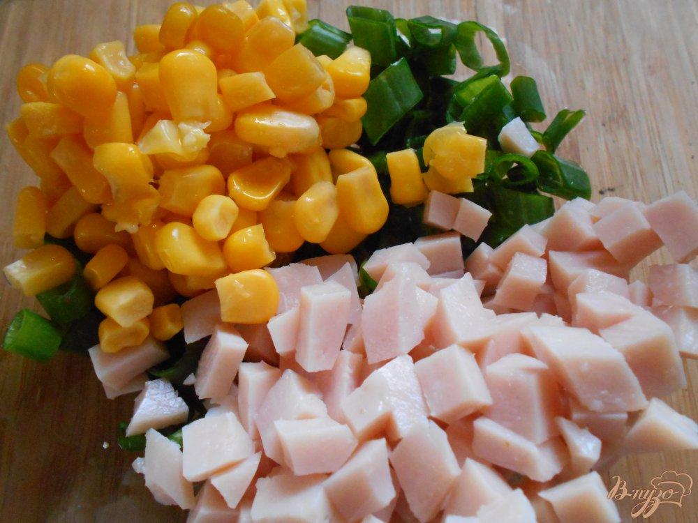 Фото приготовление рецепта: Тортилья по-мексикански шаг №4