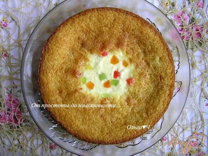 Фото приготовление рецепта: Большая творожная ватрушка шаг №7