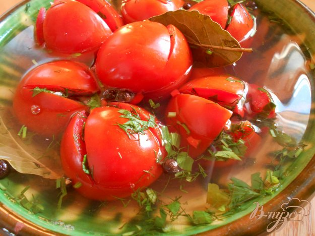 фото рецепта: Маринованные помидоры