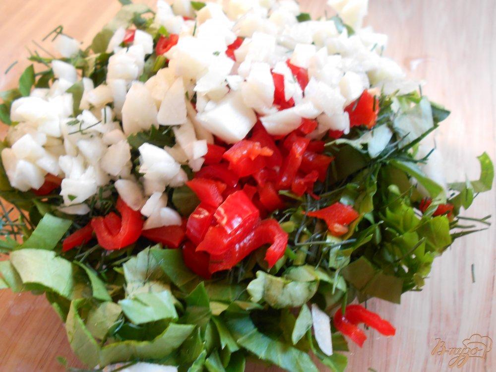 Фото приготовление рецепта: Маринованные помидоры шаг №4