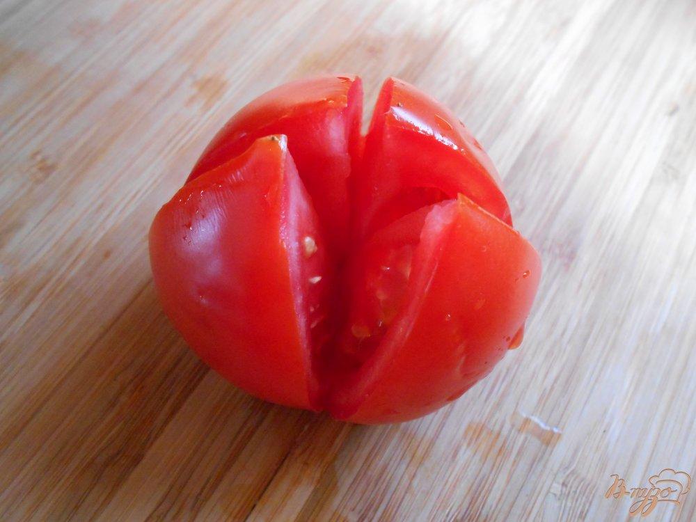 Фото приготовление рецепта: Маринованные помидоры шаг №3
