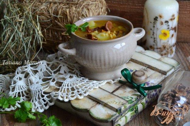 фото рецепта: Рассольник с сушеными грибами