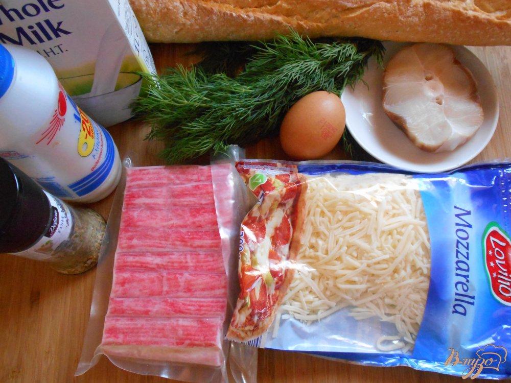 Фото приготовление рецепта: Рыбные пенечки шаг №1