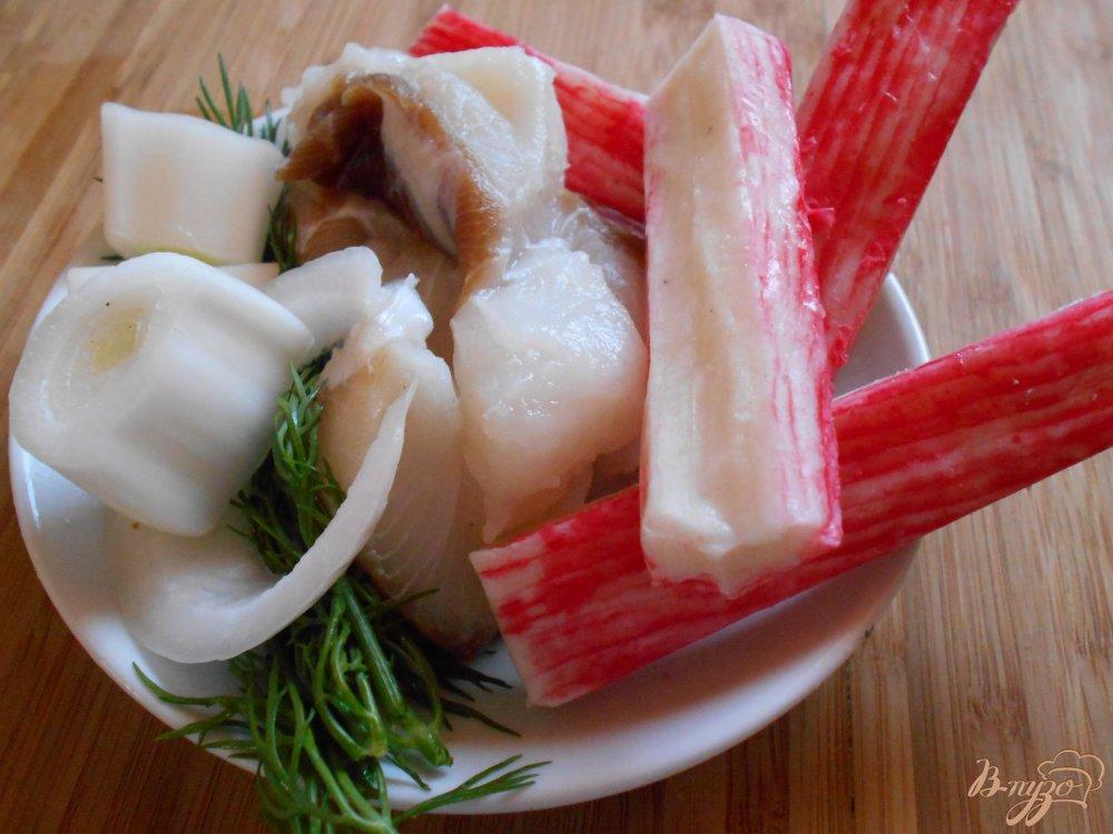 Фото приготовление рецепта: Рыбные пенечки шаг №5
