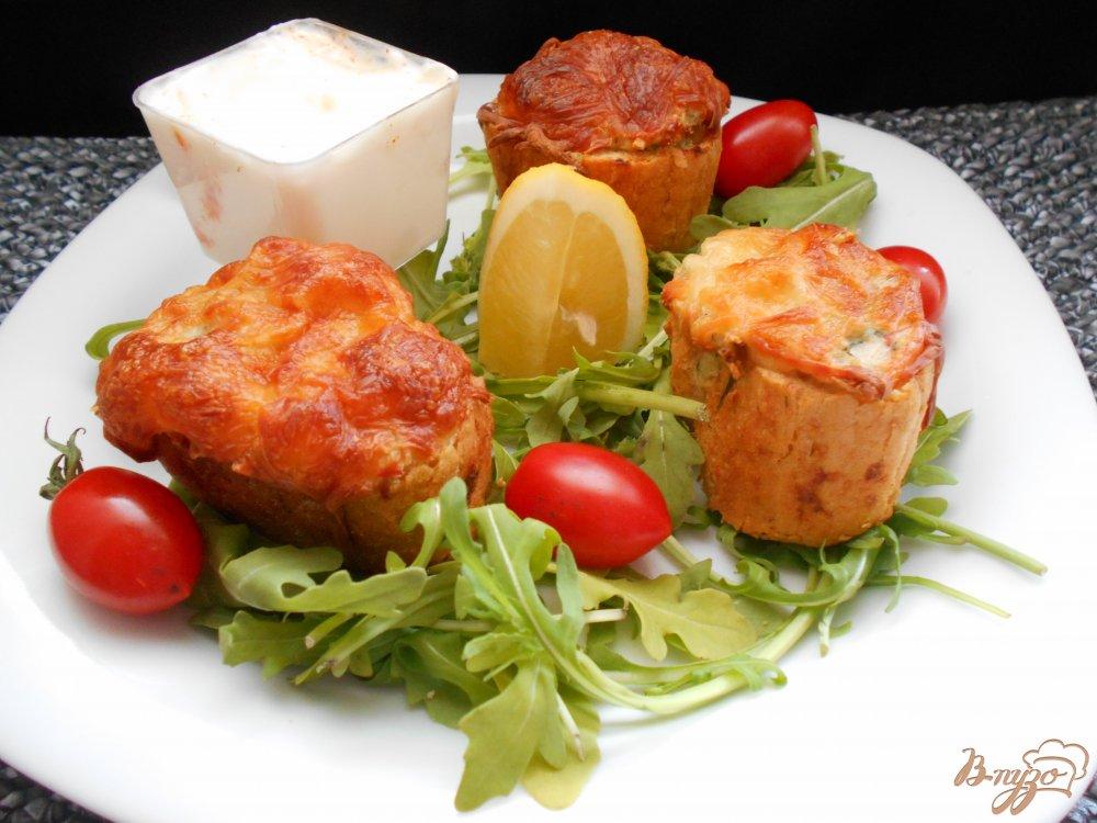 Фото приготовление рецепта: Рыбные пенечки шаг №9