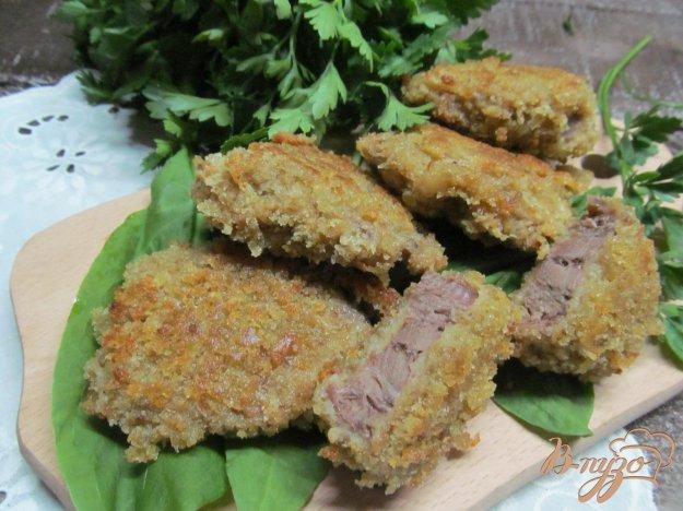 фото рецепта: Свиной язык в панировке