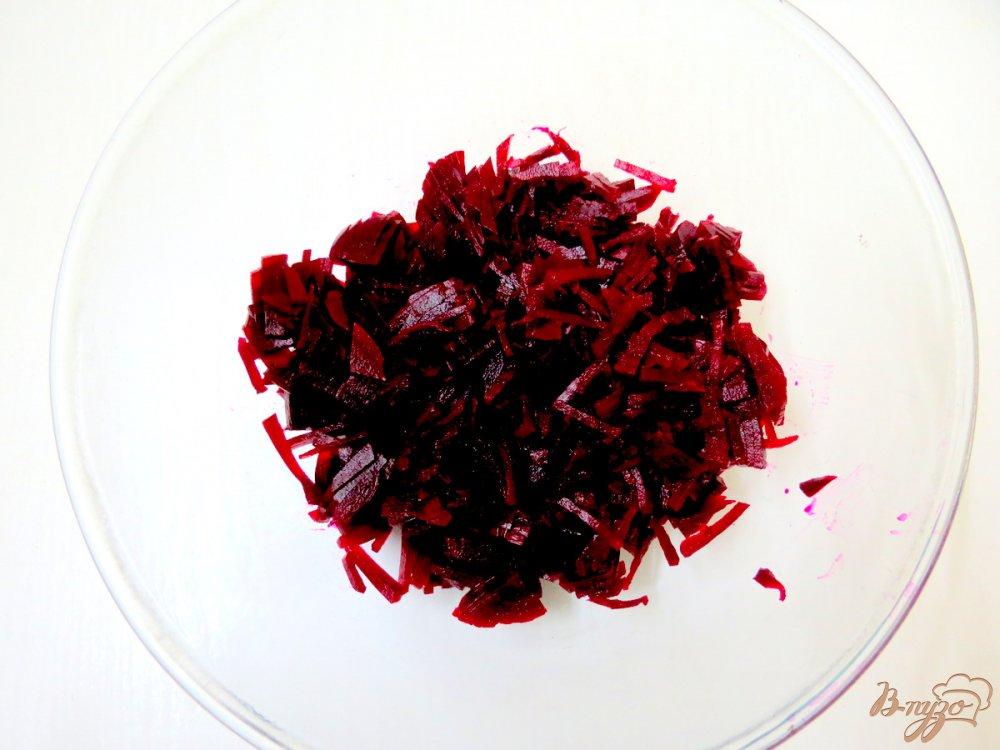 Фото приготовление рецепта: Литовский холодный борщ шаг №2