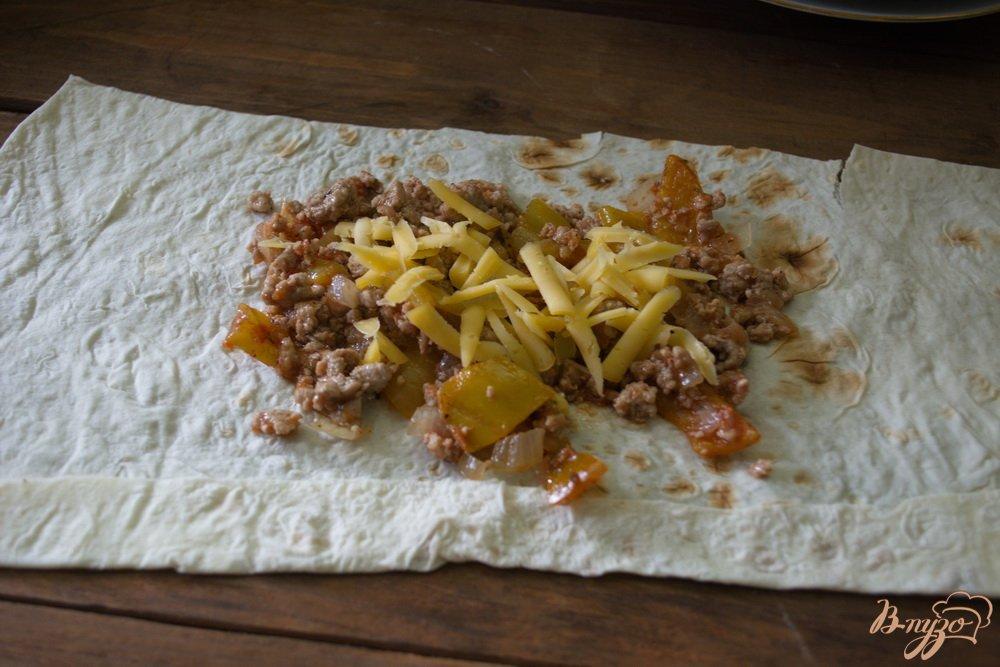 Фото приготовление рецепта: Ленивый лахмаджун шаг №3