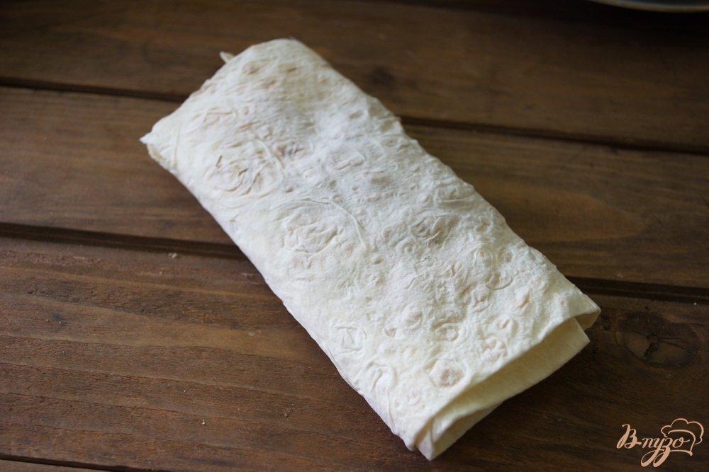 Фото приготовление рецепта: Ленивый лахмаджун шаг №4
