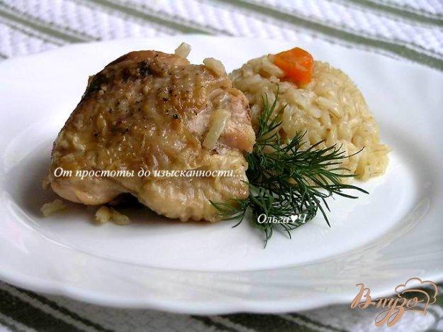 фото рецепта: Плов из коричневого риса с курицей